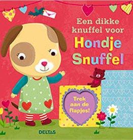 Een dikke knuffel voor Hondje Snuffel - Uitgeverij Deltas