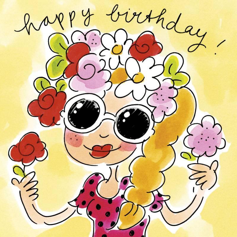 Afbeelding Verjaardag Blond.Pinterest Verjaardagskaart Blond Amsterdam Disun