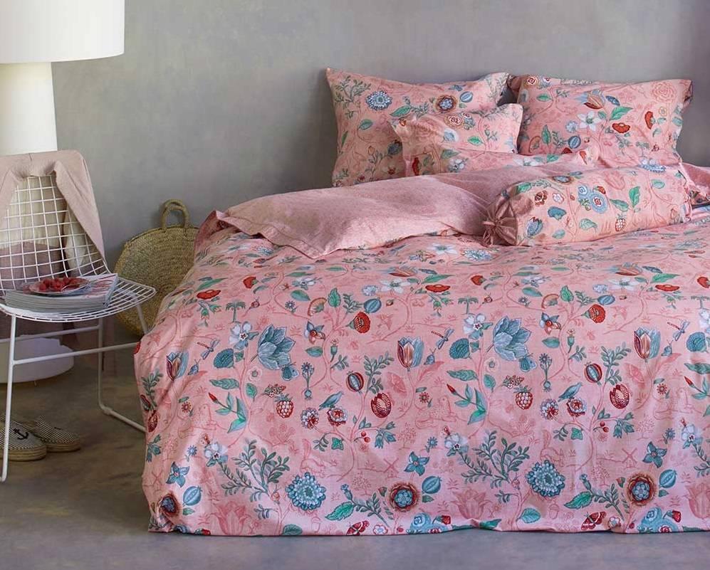 Pip Studio Dekbedovertrek Spring to Life Petite roze 1-persoons 140x220cm - Pip Studio