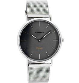 OOZOO Horloge Vintage silver/grey/titanium 36mm C7729 - OOZOO