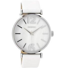 OOZOO Horloge white / white pearl 40mm C8915 - OOZOO
