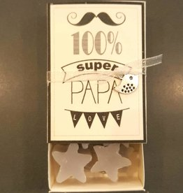 How Lovely Soap in a Box - 100% Super Papa