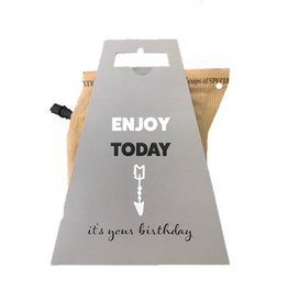 LIV 'N TASTE Enjoy Today It's your Birthday - Coffeebrewer Gift