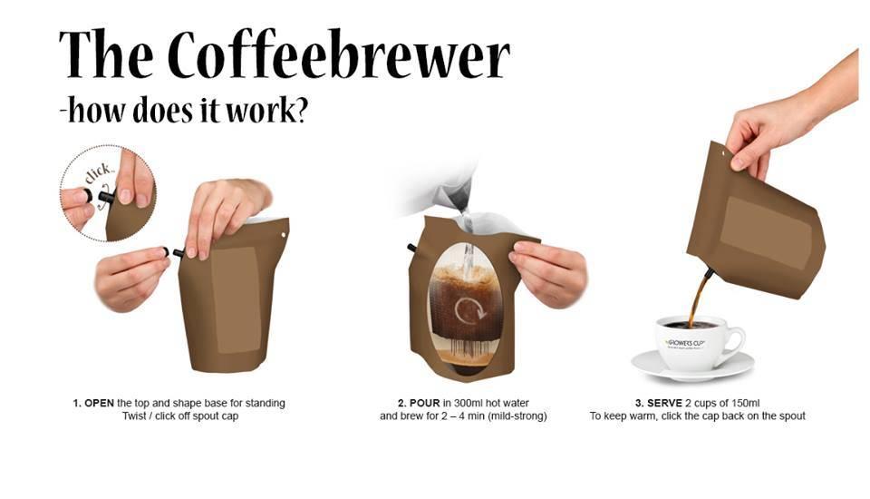 LIV 'N TASTE Ik vind je Lief. Samen Koffie Drinken? - Coffeebrewer Gift