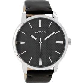 OOZOO Horloge zwart 45mm C9024 - OOZOO