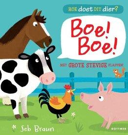 Boe! Boe! Hoe doet dit dier? Kartonboek