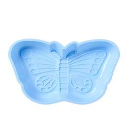 Rice Bakvorm Siliconen Vlinder blauw - Rice