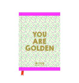 "Rice Notitieboek A5 ""You are Golden"" - Rice"