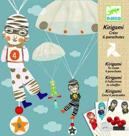 Djeco Kirigami Parachutes 6stuks De Jongensploeg +7jr - Djeco