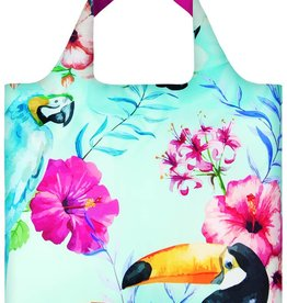 Loqi Shopper Opvouwbaar Birds - Loqi
