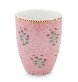 Pip Studio Drinkbeker Floral Good Morning roze - Pip Studio