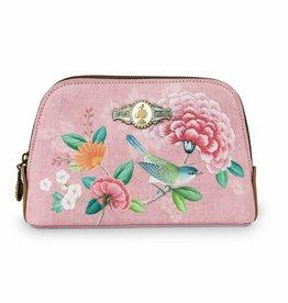 Pip Studio Toilettas klein Floral Good Morning roze - Pip Studio