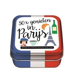 50x Genieten in Parijs - 50 Hippe Hotspots