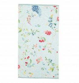 Pip Studio Handdoek groot Hummingbirds 70x140cm Blauw - Pip Studio
