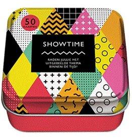 Showtime - 50 Spelletjeskaarten in een blik