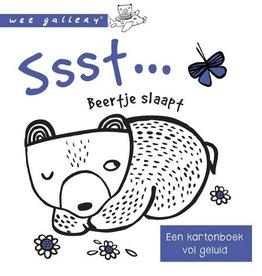 Ssst... Beertje Slaapt? +1jr - Kartonboek vol Geluid
