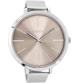 OOZOO Horloge warmgrey 48mm C9111 - OOZOO