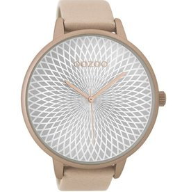 OOZOO Horloge zacht roze 48mm C9522 - OOZOO