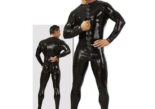 The Latex Collection Opwindende latex heren overall