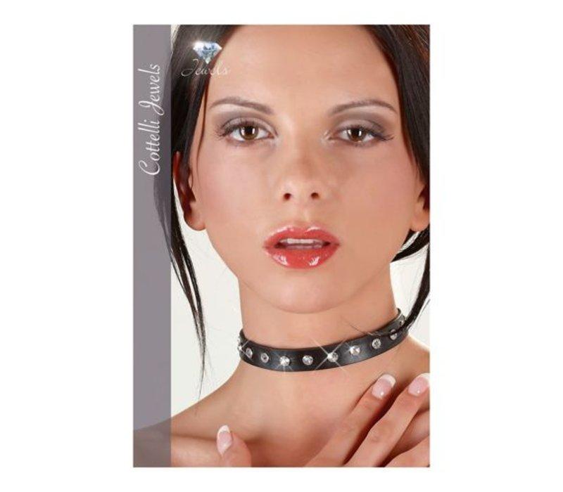 Halsband met siersteentjes
