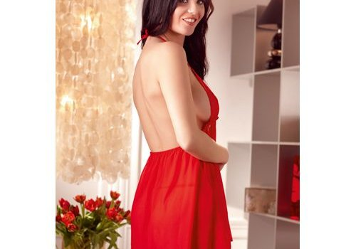 Cottelli Collection Babydoll - Rood