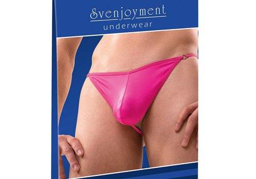 Svenjoyment Underwear Heren Mini String - Roze