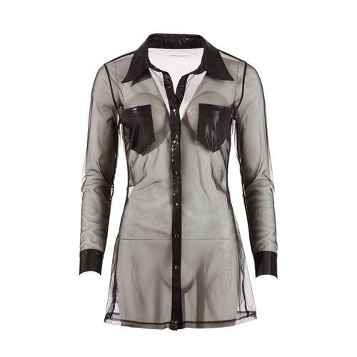 Cottelli Collection Doorzichtige jurk - zwart
