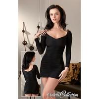 Zwart pikant jurkje