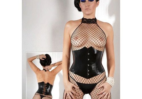 The Latex Collection Latex Corset