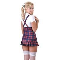 Sexy schoolmeisje outfit