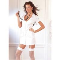 Wit Verpleegster Jurkje
