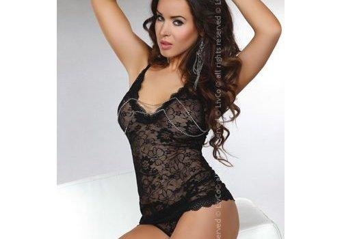 Livia Corsetti Fashion Dione Top & String - Zwart