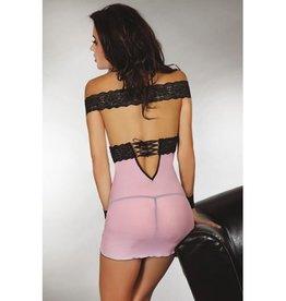 Livia Corsetti Fashion Roze jurkje met kant