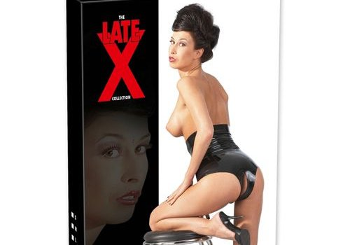 The Latex Collection Latex Slip Met Open Kruis En Hoge Taille
