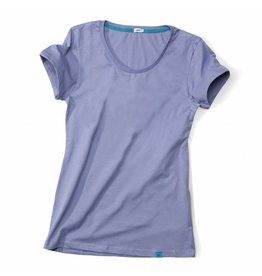 ajoofa Basic Shirt Frauen - lila