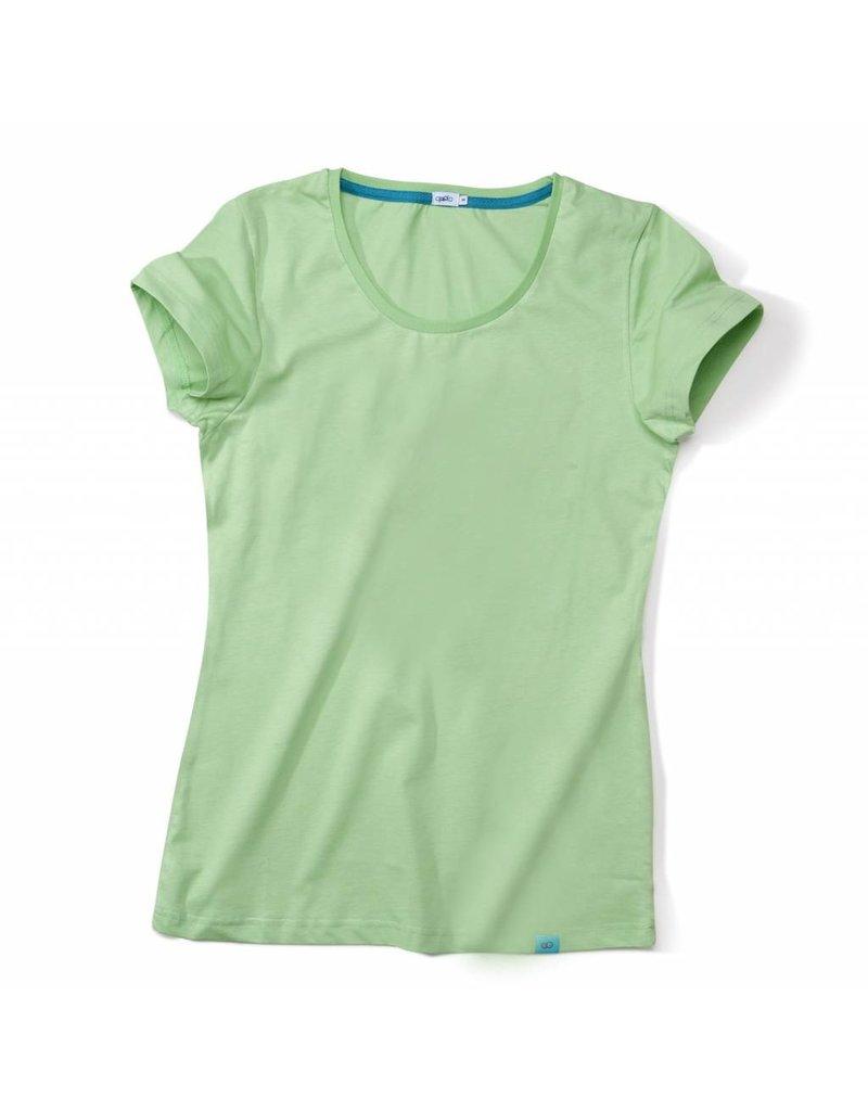 ajoofa Basic Shirt Frauen - grün