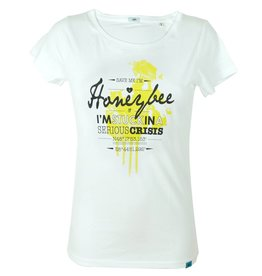ajoofa Honeybee - white