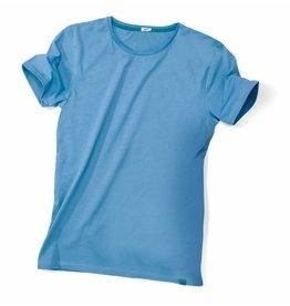 ajoofa Basic Shirt Männer - blau