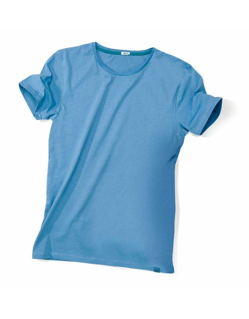 ajoofa Basic shirt men - blue