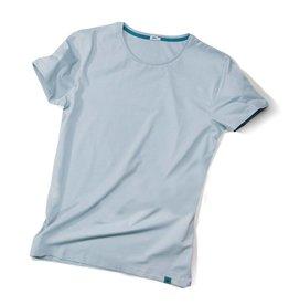 ajoofa Basic Shirt Männer - hellgrau