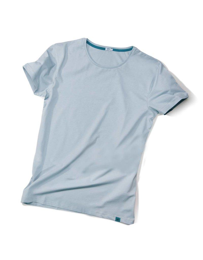 ajoofa Basic shirt men - grey