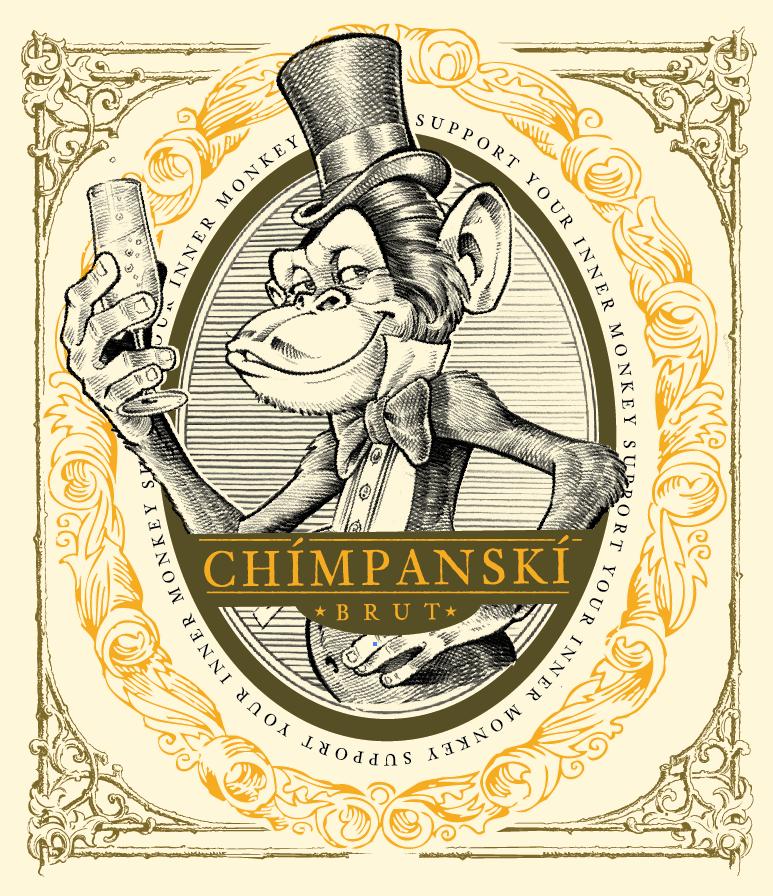 Etikett Chimpansk
