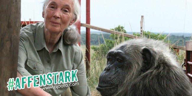 #affenstark: Jane Goodall