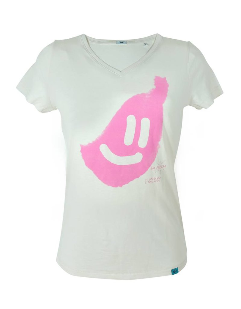 ajoofa Smile V - vintage white