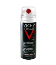 Vichy Homme Deodorant Anti-Transpirant Triple Diffusion 72uur Spray (150ml)