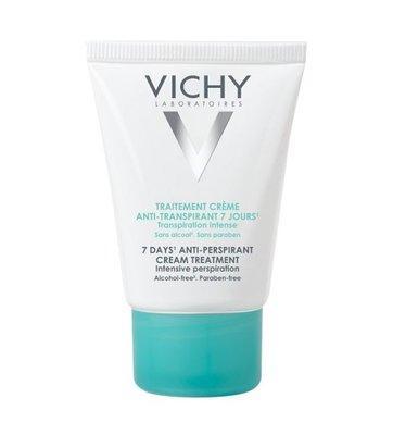Vichy Deodorant Anti-transpiratie Crème 7 dagen (30ml)