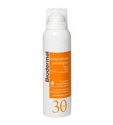 Biodermal Vernevelende zonnespray SPF 30 (150ml)