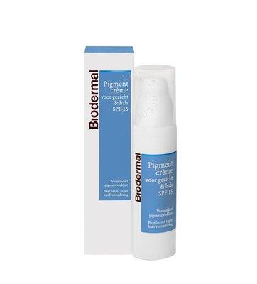 Biodermal Pigmentcrème gezicht en hals (50ml)