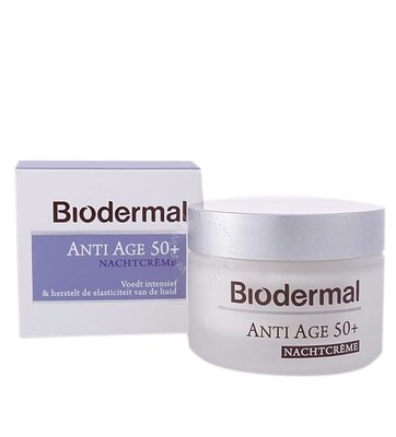 Biodermal Nachtcrème anti age 50+ (50ml)