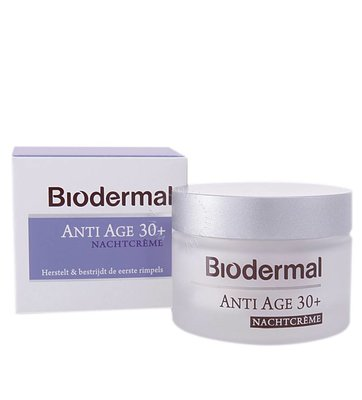 Biodermal Nachtcrème anti age 30+ (50ml)